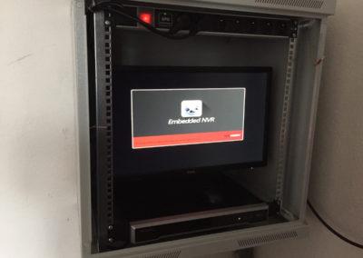 Dátový rozvádzač pre kamerový systém